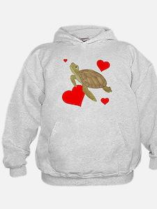 Valentine Turtle Hoodie