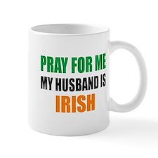 Pray Husband Irish Mug
