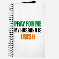 Pray Husband Irish Journal