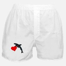 Valentine Whale Boxer Shorts
