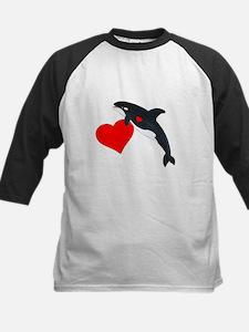 Valentine Whale Tee