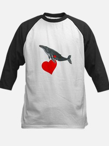 Humpback Whale Valentine Tee