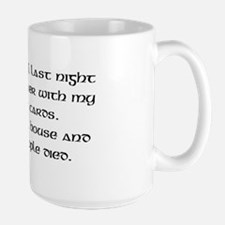 Poker Tarot Large Mug