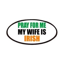Pray Wife Irish Patches