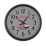 Pinkie's Large Wall Clock