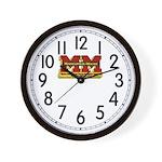 Minneapolis-Moline Wall Clock