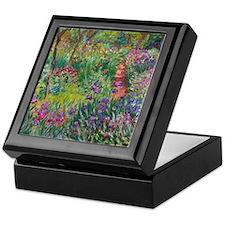 Giverny Iris Garden Keepsake Box