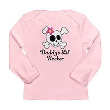 Daddy's Lil Rocker Long Sleeve Infant T-Shirt