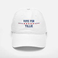 Vote for TILLIE Baseball Baseball Cap