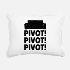 PIVOT PIVOT PIVOT Rectangular Canvas Pillow