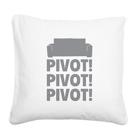PIVOT PIVOT PIVOT Square Canvas Pillow