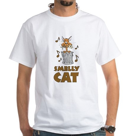Smelly Cat White T-Shirt