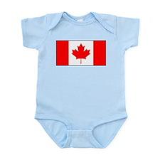 Canada - Canadian Flag Infant Bodysuit