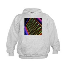 Oscilloscope showing voltage/time trace - Hoodie