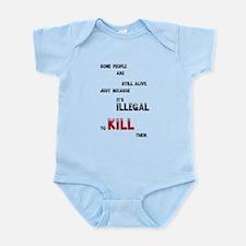 Some people are still alive, ... Infant Bodysuit