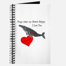 Personalized Whale Journal