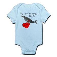 Personalized Whale Infant Bodysuit