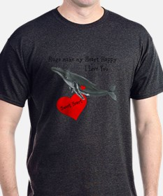 Personalized Whale T-Shirt