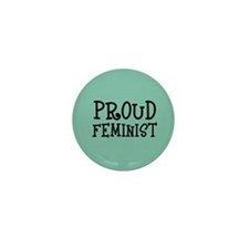 Proud feminist Mini Button (10 pack)