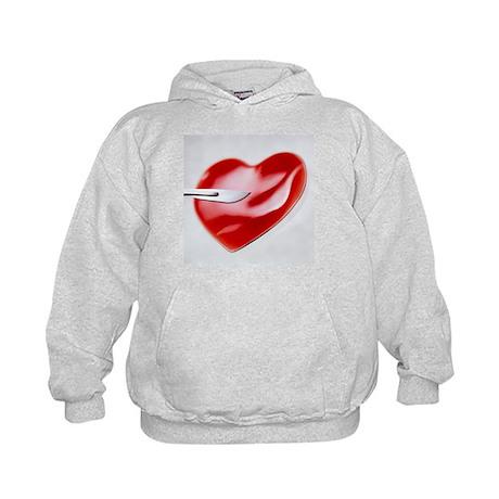 Unhealthy heart - Kids Hoodie