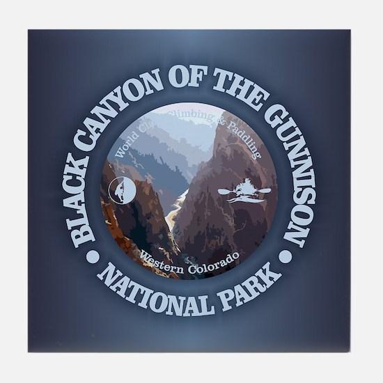 Black Canyon of the Gunnison Tile Coaster