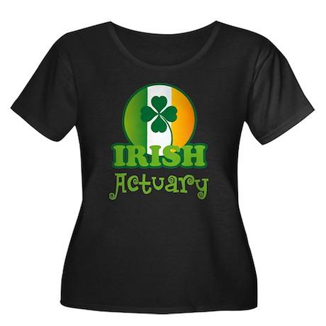 Irish Actuary St Patricks Women's Plus Size Scoop
