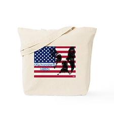 All American Pride, Boston Terrier Tote Bag