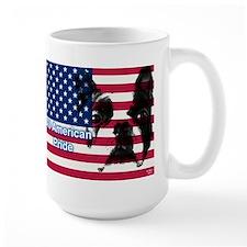 All American Pride, Boston Terrier Ceramic Mugs