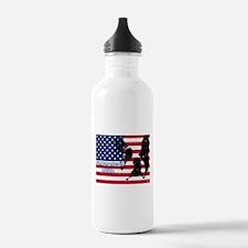 All American Pride, Boston Terrier Water Bottle