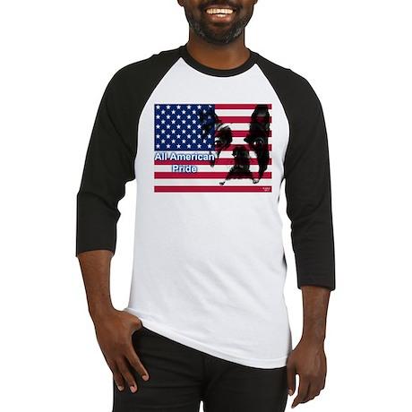 All American Pride, Boston Terrier Baseball Jersey