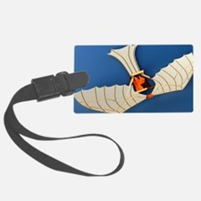 Flying machine, computer artwork - Luggage Tag