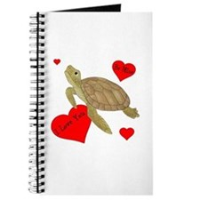 Personalized Turtle Journal