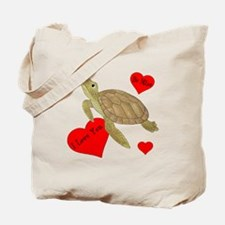 Personalized Turtle Tote Bag