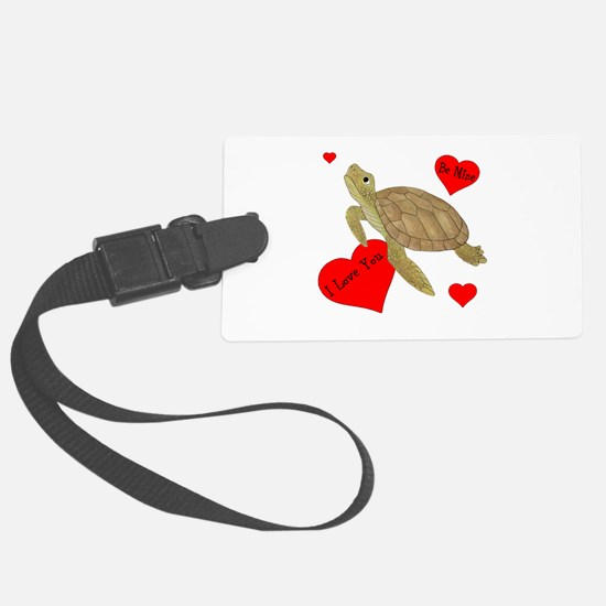 Personalized Turtle Large Luggage Tag