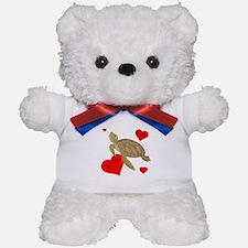 Personalized Turtle Teddy Bear
