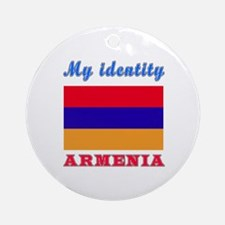 My Identity Armenia Ornament (Round)