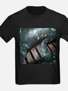 Coelacanth fish fin - Kid's Dark T-Shirt