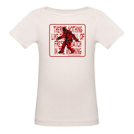 FRESH SQUATCH IN THE MORNING Organic Baby T-Shirt