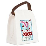 HoneyBUNNY.png Canvas Lunch Bag
