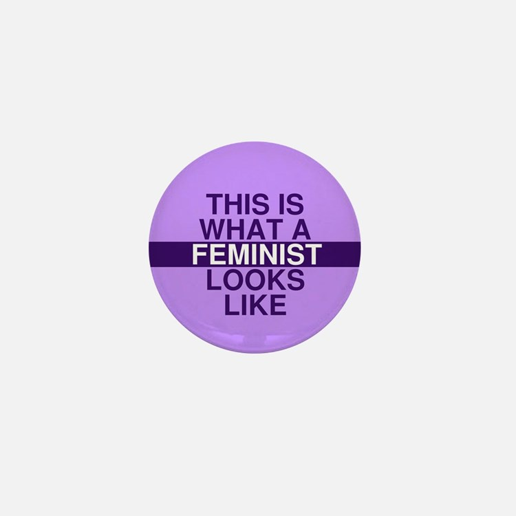 This is what a feminist looks like Mini Button
