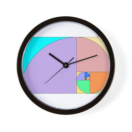 Golden Ratio Wall Clock