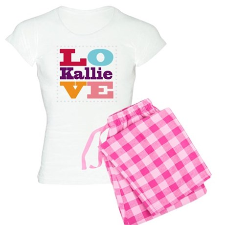 I Love Kallie Women's Light Pajamas
