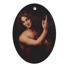 St. John the Baptist Ornament (Oval)