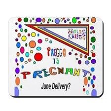 Pregnant Delivery June Mousepad