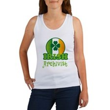 Irish Archivist St Patricks Women's Tank Top