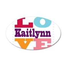 I Love Kaitlynn Wall Decal