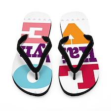 I Love Kaitlyn Flip Flops