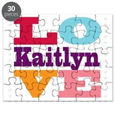 I Love Kaitlyn Puzzle
