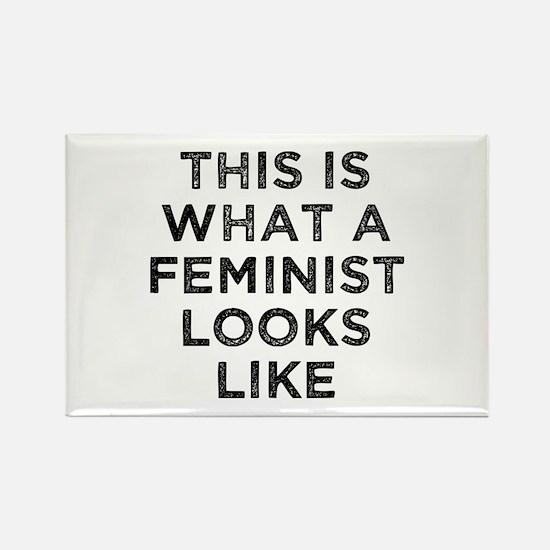 This Feminist Rectangle Magnet