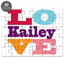 I Love Kailey Puzzle